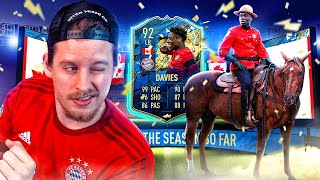 THE BEST FIFA 20 WINGBACK?! 92 TEAM OF THE SEASON DAVIES PLAYER REVIEW! FIFA 20 Ultimate Team