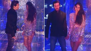 Tiger Shroff helps Disha Patani avoid an oops moment !