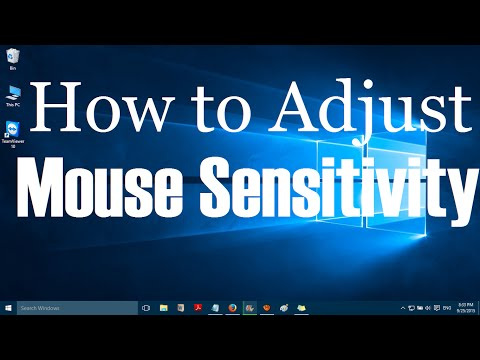 How to Adjust Mouse Sensitivity in Windows 10