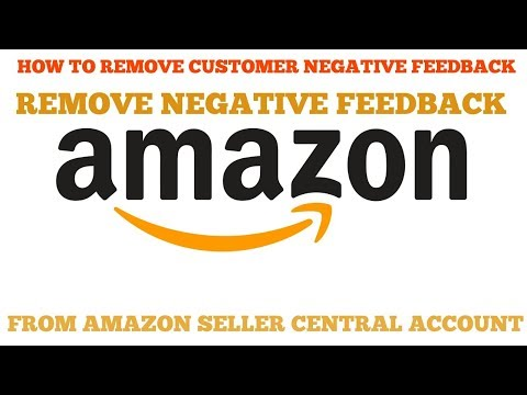 How to remove customer negative feedback from amazon seller central account India in Hindi