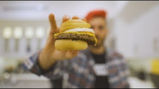 the impossible burger *hunger warning*