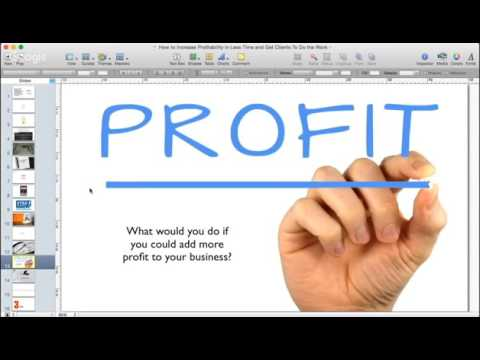 Increase Bookkeeping Practice Profits by 259% in 1/4 of the Time & Get Clients to do 1/2 Your Work!