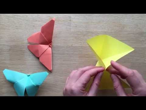 Easy Origami Butterfly