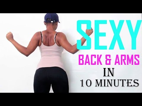 how to get sexy back & Arms |best arm workouts & back exercises for women | arm and back exercises