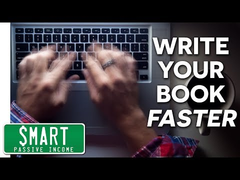 How to Write a Book - The Secret to a Super Fast First Draft