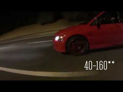 800HP TT GTO vs 500hp E-85 Evo 8