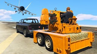 NEW OVERPOWERED $15 MILLION ANTI-AIRCRAFT TRAILER! (GTA 5 Gun Running DLC)