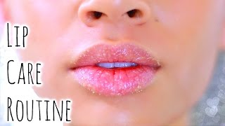 My Lip Care Routine! Facial Hair Removal + 3 DIY Scrubs