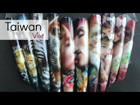 Mind blowing nail art at Taiwan beauty show | Nail school tour