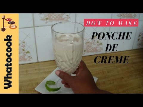 How To Make Ponche de Creme🍹🎄