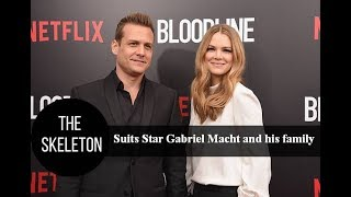 Suits Star Gabriel Macht and his family