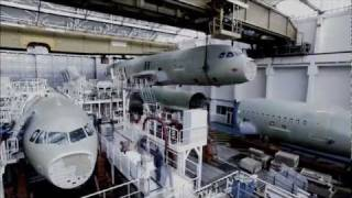 Airbus A320 final assembly