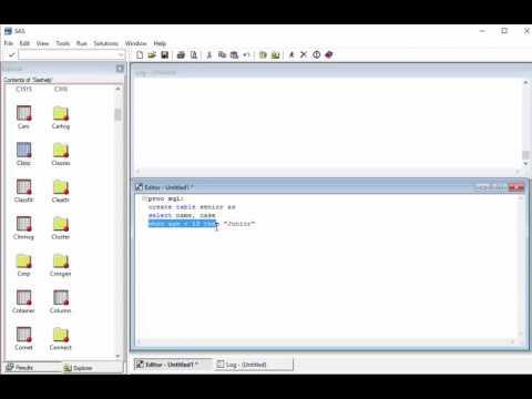PROC SQL with case statement