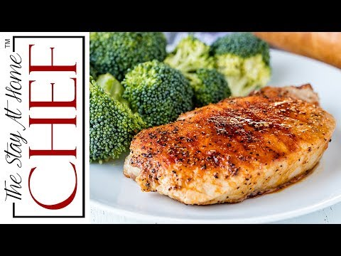 How to Make Easy Baked Pork Chops | The Stay At Home Chef