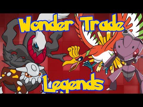 Pokemon XY: Legendary Pokemon Wonder Trading!