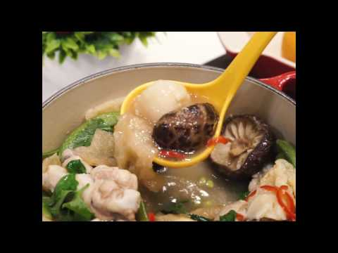 Fish Maw Mushroom Stew Recipe