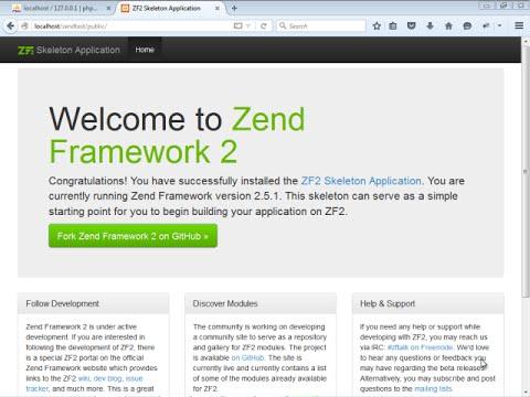 zend framework tutorial#2how to remove public from url in zend framework