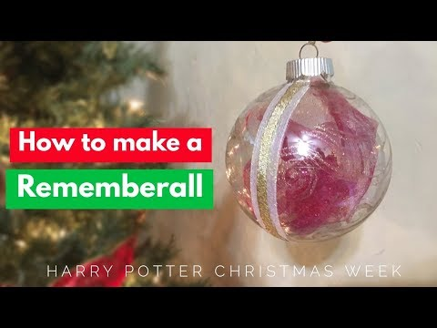 How To Make A Remembrall Christmas Tree Ornament!!!