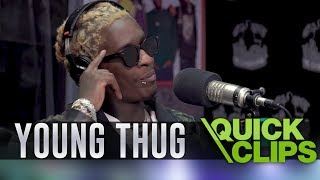 """Young Thug On Nipsey Hussle: """"I Would've Jumped In Front Of The Gun"""""""