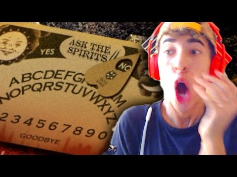 Asking questions to a spirit with an Ouija board! (Thriller Thursday)