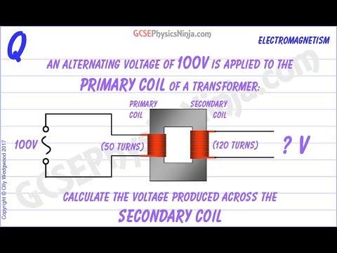 Transformer Calculation Example - GCSE Physics