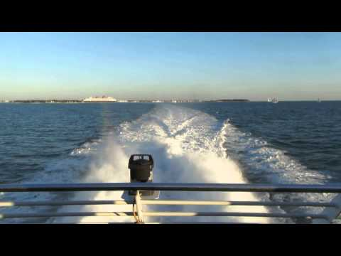 Heading to Fort Myers, Florida aboard the Key West Catamaran