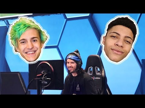 NINJA FORTNITE EVENT!! with Myth, Gone, Enigma, and Shonduras!