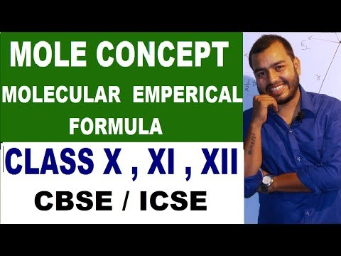MolecuLar FormuLa and EmperiCal Formula | Percentage CompositioN | Class 10 , 12 ICSE / CBSE