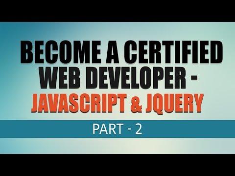 Javascript & JQuery | Free Complete Web Development Tutorial | Part 2 | Eduonix