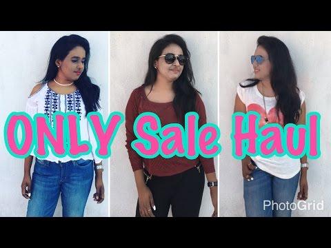ONLY Sale Haul !! Nivi Mudaliar  Indian Dreamer
