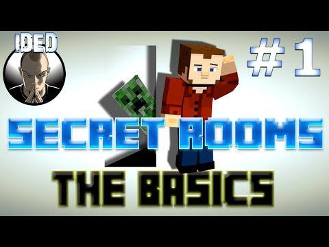 Secret Rooms Tutorial - The Basics - Minecraft Mod