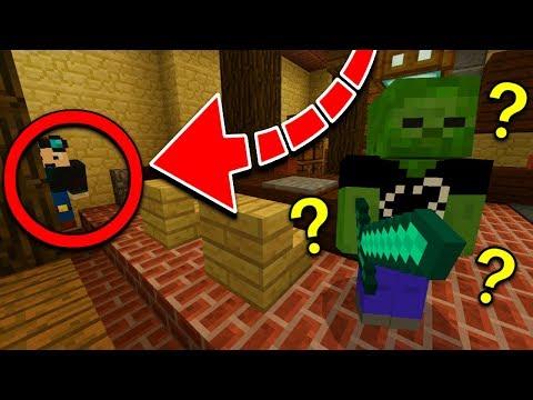 Extreme HIDE AND SEEK in Minecraft! (MCPE YouTuber Hide 'N' Seek)