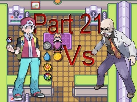 Pokemon Fire Red - Seventh Badge Gym Leader: Blaine Part 21