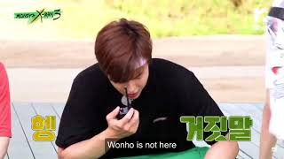 Wonho Forgetting About His Team For A Few Seconds