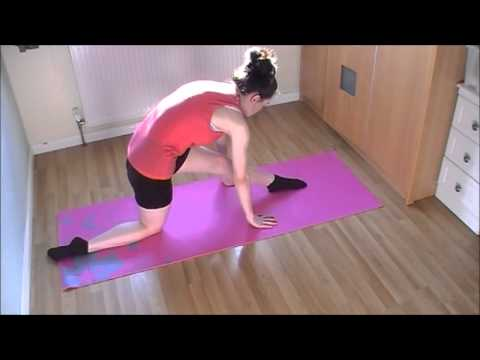 HOW TO DO THE SPLITS QUICK EASY