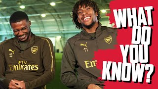 NAME THE TOP 20 INSTAGRAM ACCOUNTS | Maitland-Niles v Iwobi | What Do You Know?