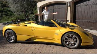 The Pagani Zonda Is an Insane $6 Million Supercar