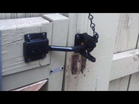 Single gate latch replacement