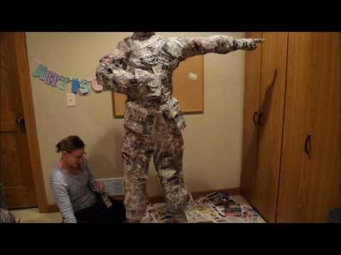 Making a Paper Mache Person | Fashion Me Cute