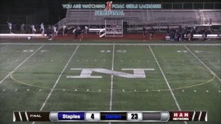 HAN Sports: FCIAC Girls Lacrosse Semifinal #1 Darien vs. #5 Staples 5.22.17