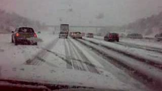 Snow Chaos on M1 The Original Beast from the East