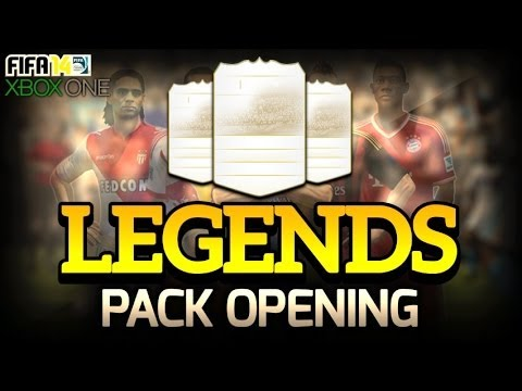 LEGENDS PACK OPENING| INSANE FIRST PACK| NEW FIFA 14 ACCOUNT