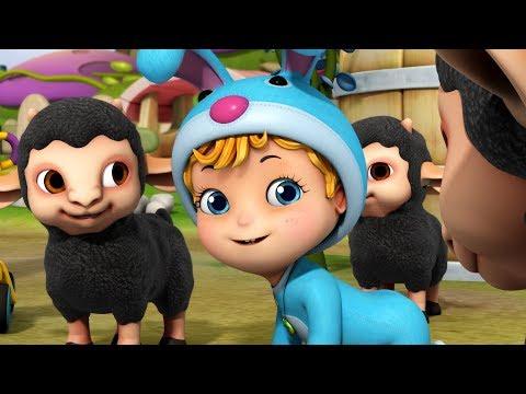 Baa Baa Black Sheep - Back from School | Rhymes for Children | Infobells