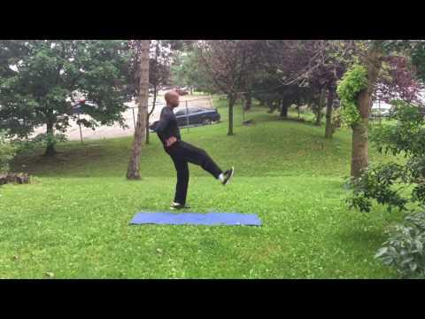 Leg Toning Workout Without Weights - Part 1 - CHD