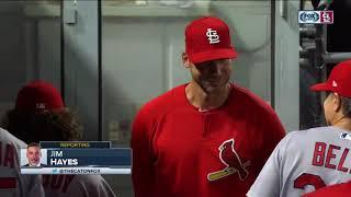 Chris Carpenter in the Cardinals dugout, Lance Lynn stories