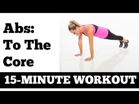 15-Minute Abs and Core Workout  Stomach Exercises no equipment needed