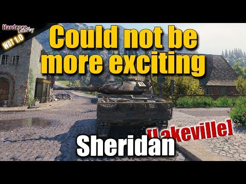 WOT: XM551 Sheridan, Could not be more exciting, WORLD OF