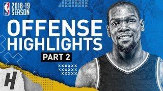 Kevin Durant BEST Offense Warriors Highlights from 2018-19 NBA Season! MVP Mode (Part 2)