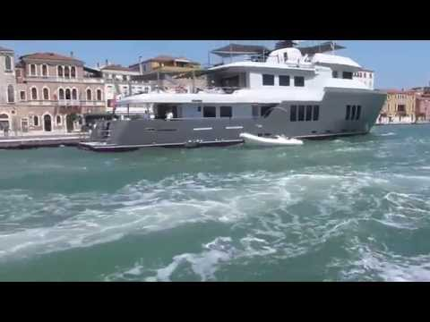 Venice water bus from the cruise terminal and back (later). July '14