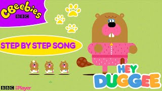 Step By Step Song   Hey Duggee Song   CBeebies